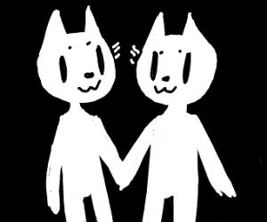 2 cat people