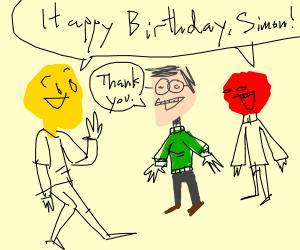 Happy Birthday Simon