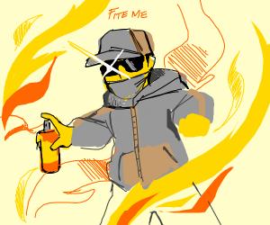 Graffiti Firefighter