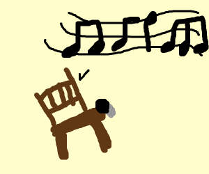 musical chairs (literally)
