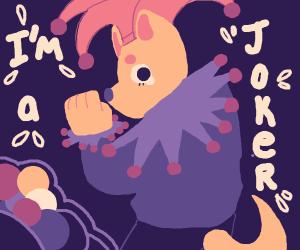 Joker furry