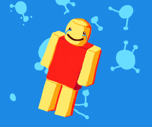 Lego Ironman crying (red torso)