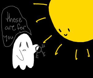 ghost takes keys to the sun