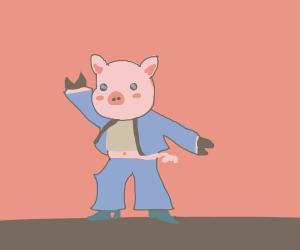 disco pig