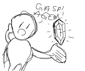 boi finds gem
