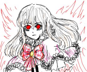 Anime bride or princess