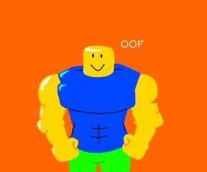 muscular roblox noob