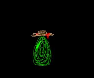 mexican avocado with a dorito hat