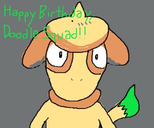 Doodle Squad happy bday!