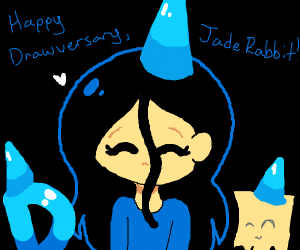 Happy Drawversary JadeRabit!!!