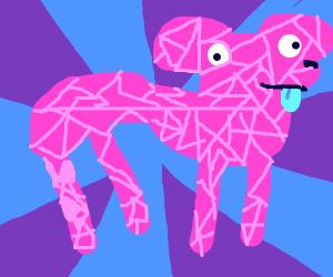 crystal dog thing