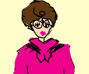 Dolores Umbridge and Harry Potter's gay child
