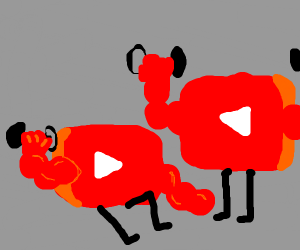 buff YouTube buttons