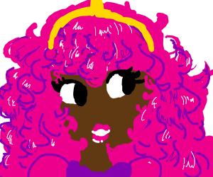 Black princess bubblegum