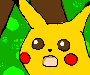 shook pikachu face