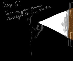 Step 5: watch the universe go dark