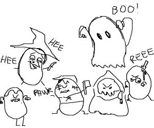 Spooky beans