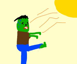 Zombie in a Heatwave