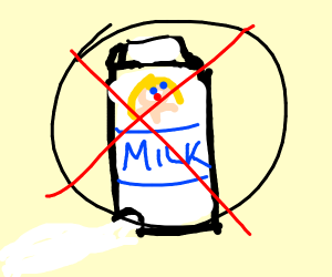 No leaky milk cartons allowed