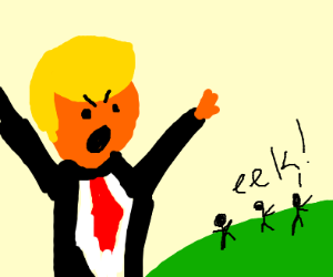 trump is a giant