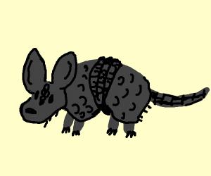 Ebony armadillo