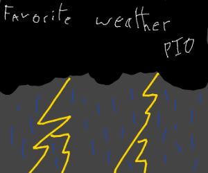 Favorite weather pio