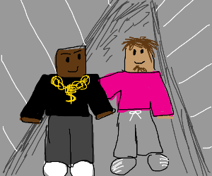 Lil pump and Kanye west (RoBloX)