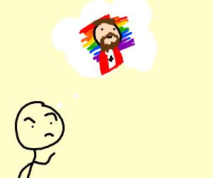 Man believes Jesus is gay
