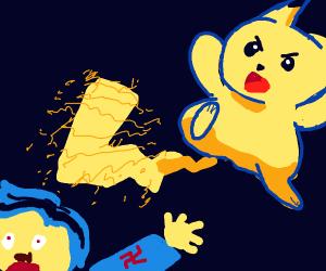 Pikachu Zaps a Nazi