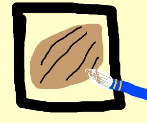 Almond Painting