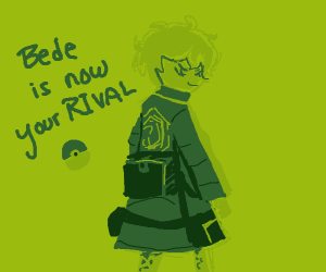 Bede (PKMN) is the new gary
