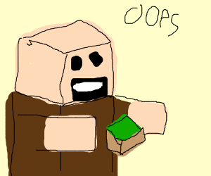 notch created minecraft... oops