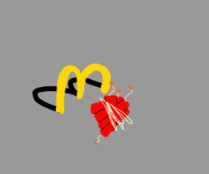 McDonald's dynamite