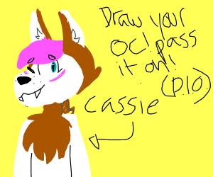 Draw your OC P.I.O