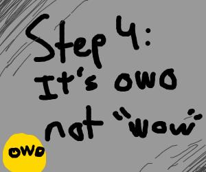 step 3. wow