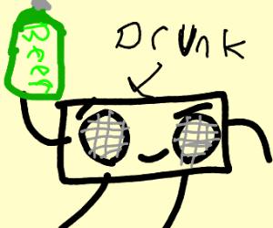 drunk boombox