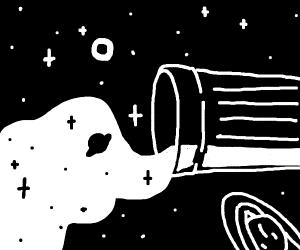 Saturn Space Milk