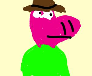 Peppa pig is confirmed to be Indiana Jones