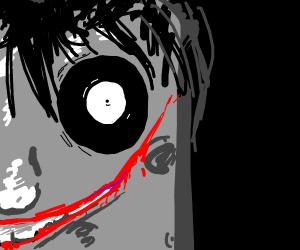 creepy jeff the killer spongebob