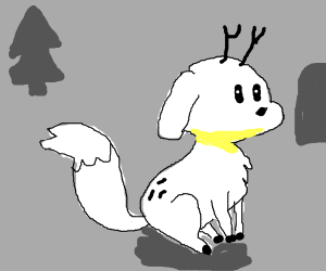 Twig, Hilda's reindeer-fox!