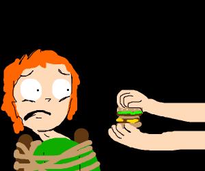 Torturing a vegan