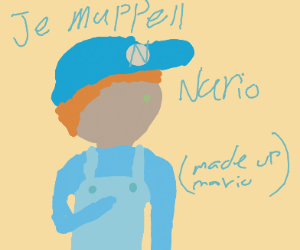 Nario (Made up) Pretends to be Mario
