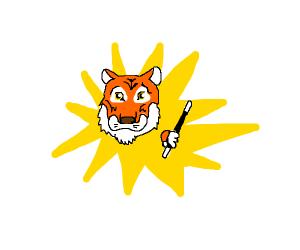 Magical tiger