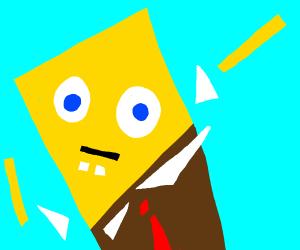 abstract Spongebob