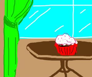 Cupcake + Window