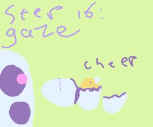 step 15. Take care of egg til it hatches