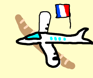 french plane