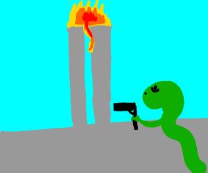 snake with gun 19 11