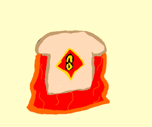 Superman exploring with Bread