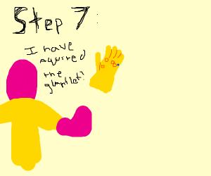 Step 6: Seek the infinity gauntlet